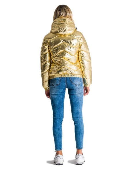 Quilted Jacket Gianni Kavanagh Bright Gold