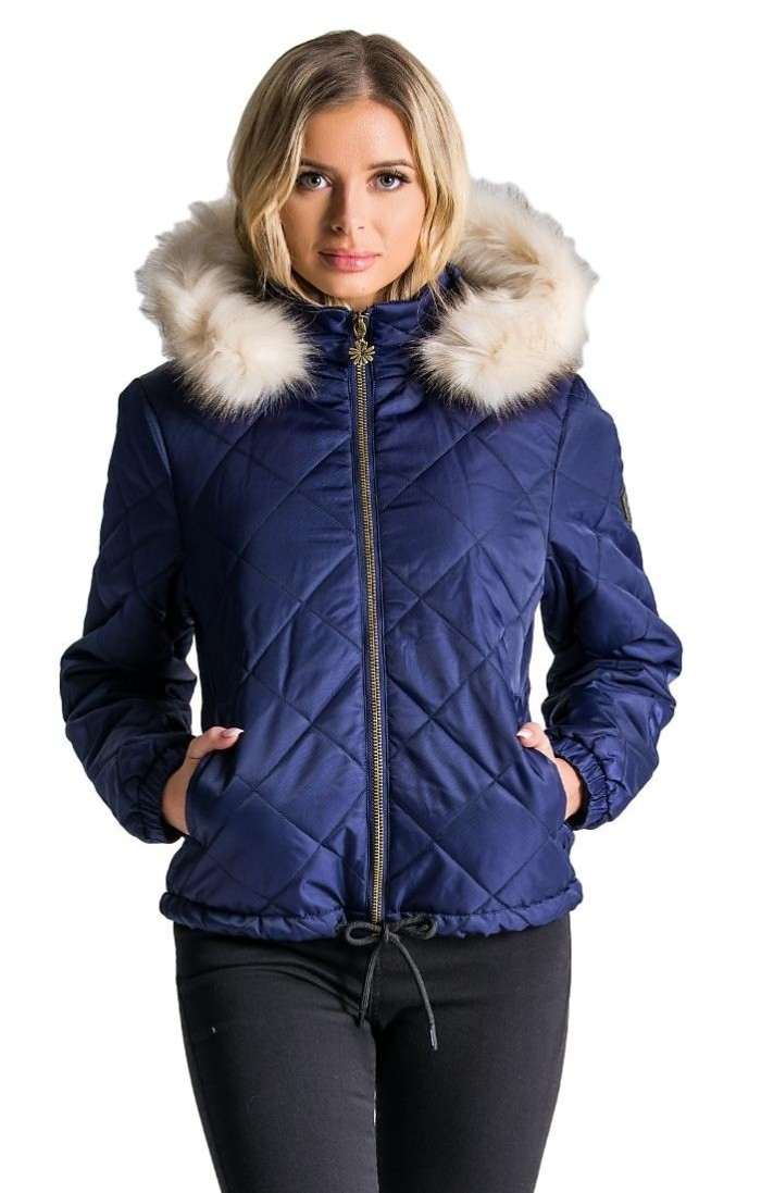 Quilted Jacket Gianni Kavanagh Navy Blue