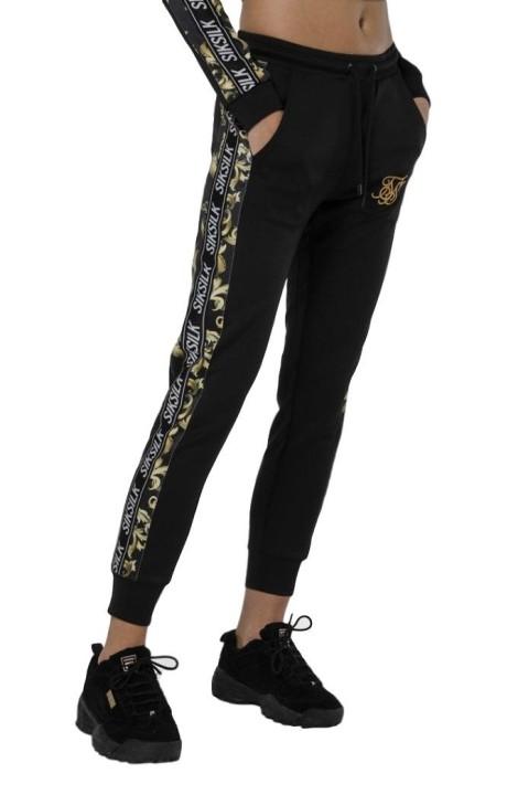 Pantalón de Chandal SikSilk Venetian Negro
