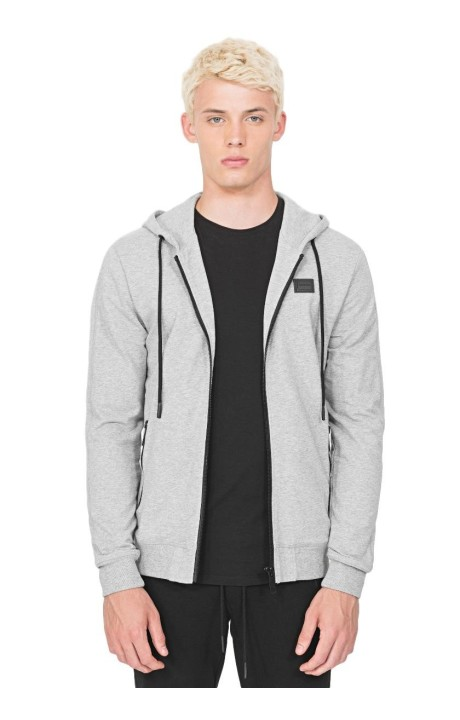 Sweat-shirt Antony Morato Gris Zip sweat à Capuche