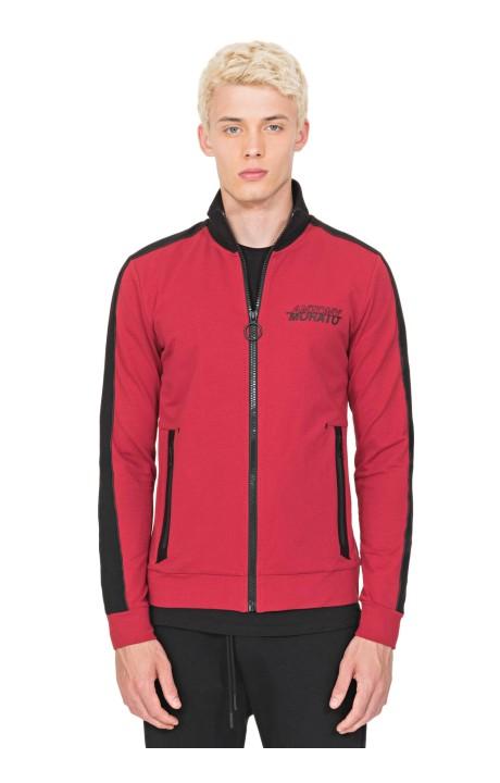 Sweatshirt by Antony Morato Red with Zipper