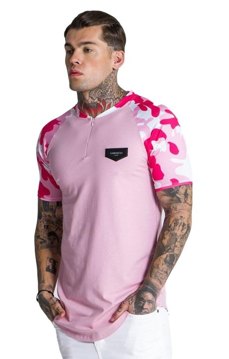 Camiseta Gianni Kavanagh Baseball With Pink