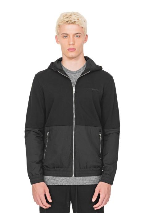 Sweatshirt by Antony Morato in Black with Lined Hood