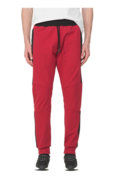 Trousers By Antony Morato Red Slim Fit Elastic