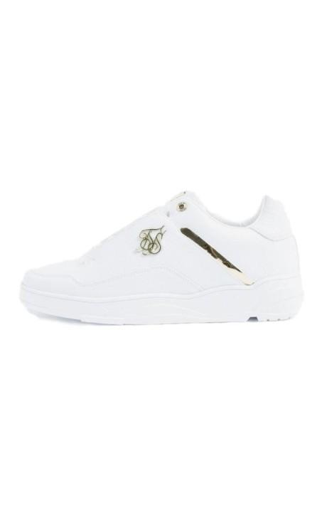 Chaussures de course de SikSilk Blaze Lux Blanc et Or