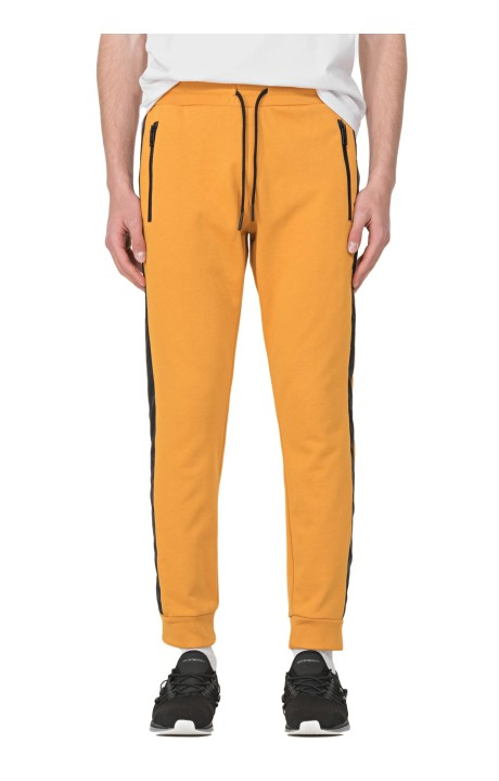 Trousers by Antony Morato Yellow plush with pockets