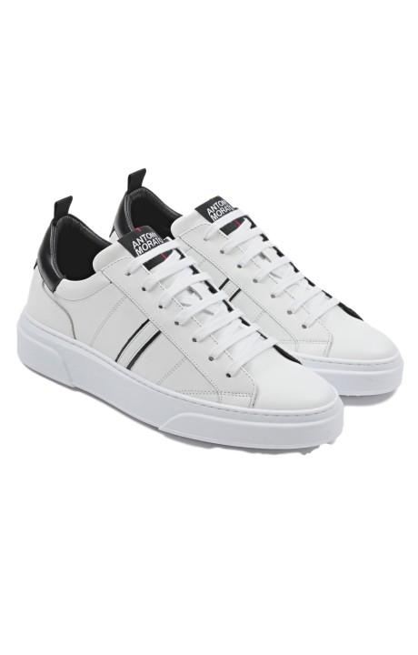Chaussures de course Antony Morato Minimale de tissu en cuir Nappa