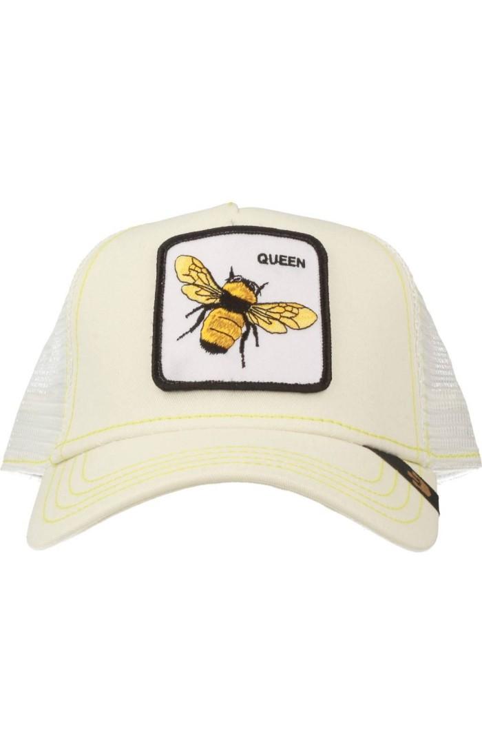 Gorra trucker negra abeja Queen Bee de Goorin Bros.