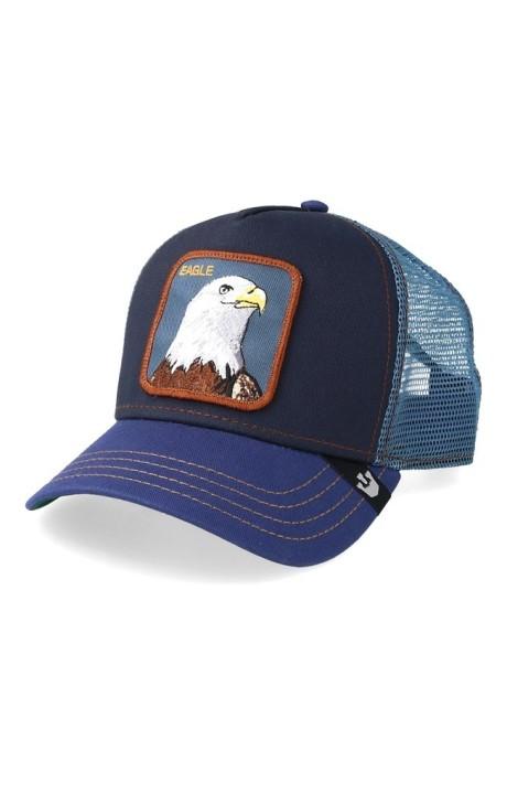Gorra Goorin Bros Azul Marino Aguila Eagle
