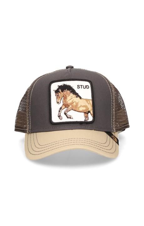 Cap, Goorin Bros Gray Horse You Stud