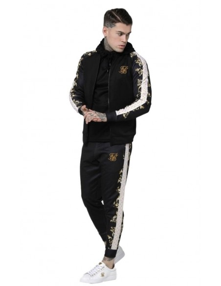 Pantalon SikSilk Black Edition Polly Cuffed Negro
