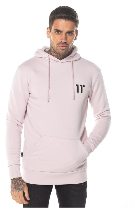 Sudadera con Capucha 11 Degrees Rosa