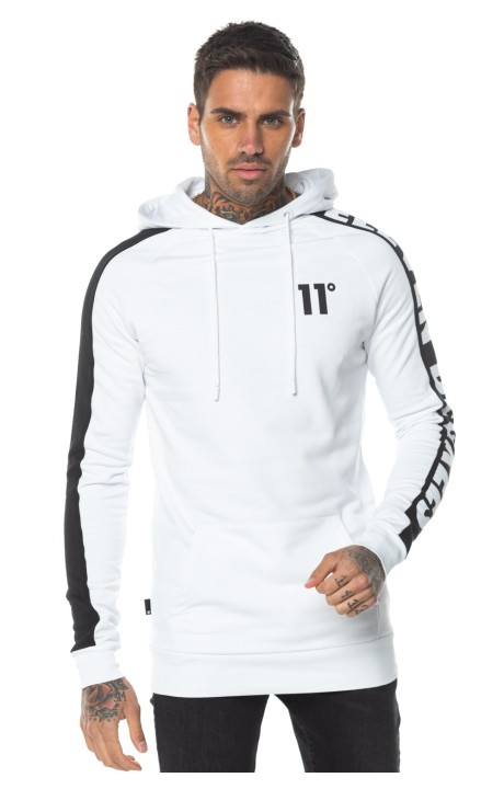 Hoodie 11 Degrees Odin White