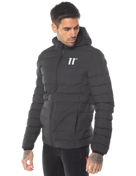 Jacket 11 Degrees Space Puffer Black