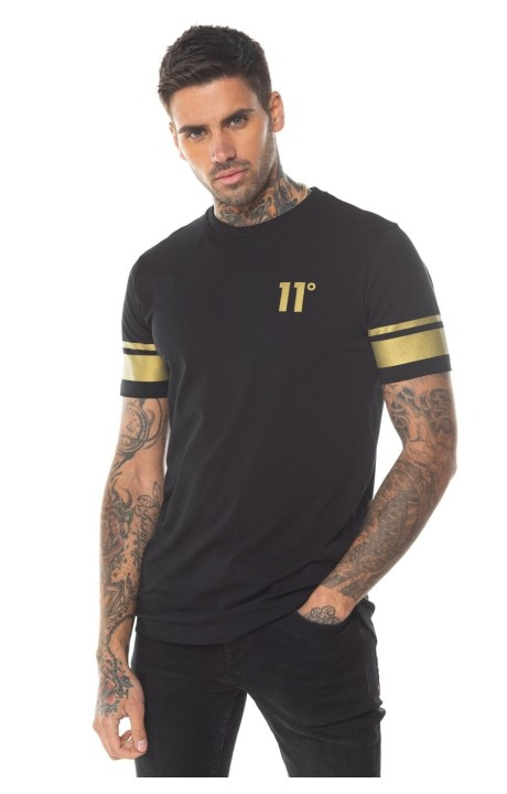 Camiseta Gianni Kavanagh Negra de Verano Tropical