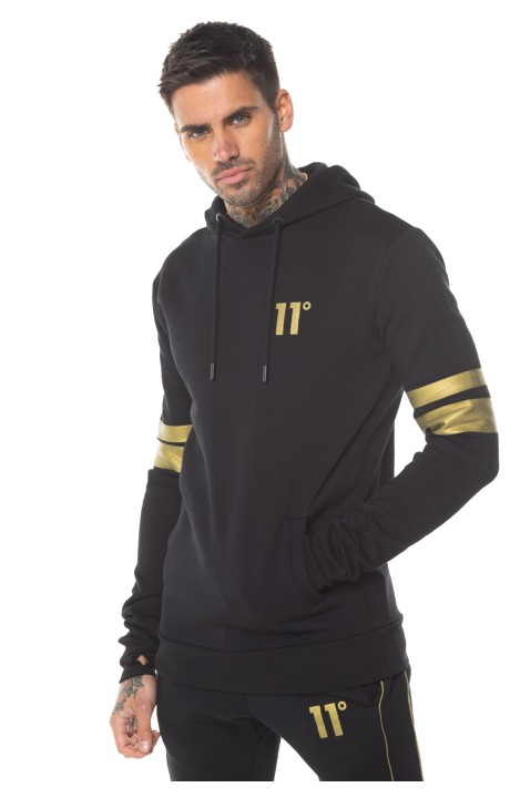 Sudadera con Capucha 11 Degrees Boble Raya