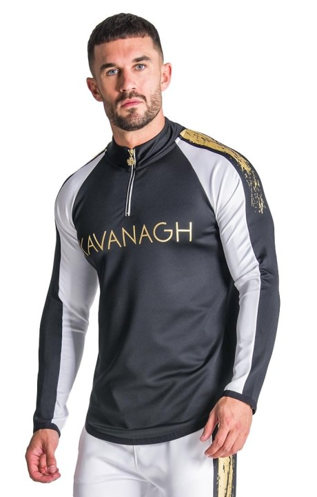 Sweatshirt Gianni Kavanagh Flash Gold and Black