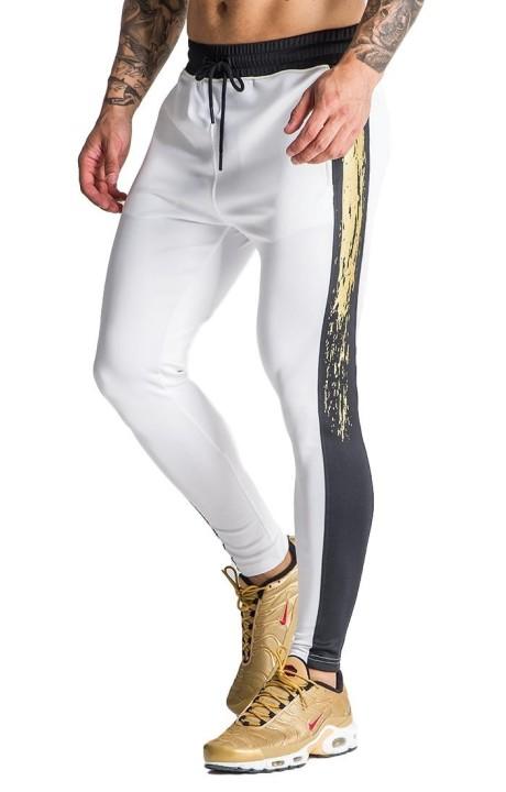 Pantalon de Survêtement Gianni Kavanagh Flash Noir et Or