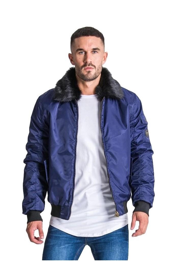 Coat Gianni Kavanagh Vintage Navy Blue