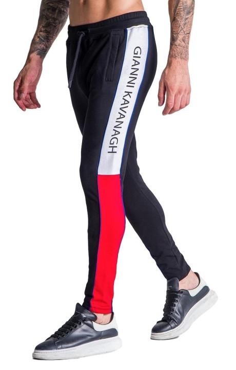 Pantalon de survêtement Gianni Kavanagh Racer Bloc Noir