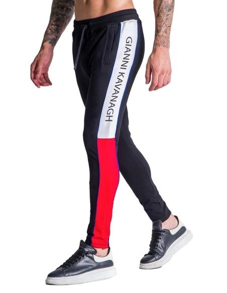 Pants tracksuit Gianni Kavanagh Racer Block Black