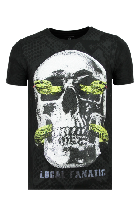 Camiseta Local Fanatic Snake Skull