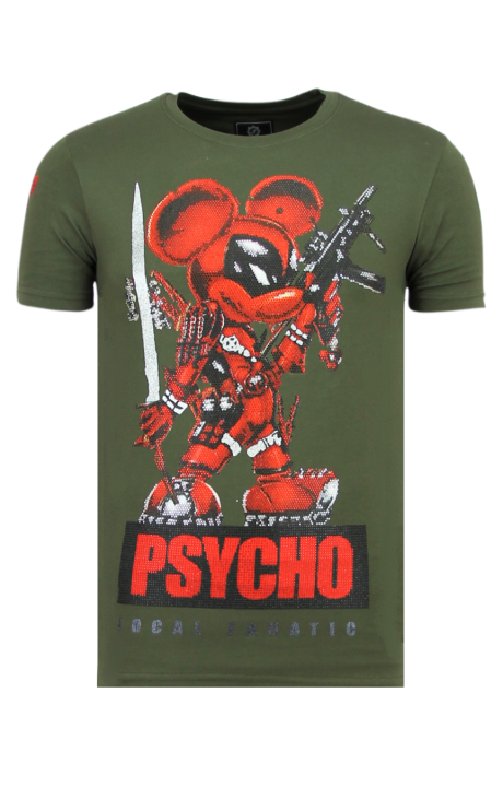 Camiseta Local Fanatic Psycho Mouse