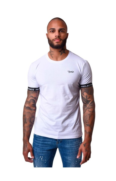 Camiseta Project X Paris Basica Blanco