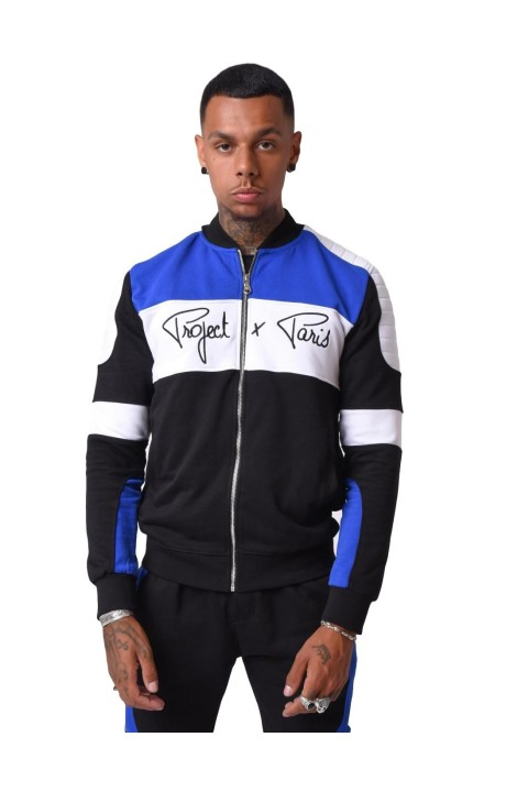 Jacket Project X Paris Biker Neck Teddy