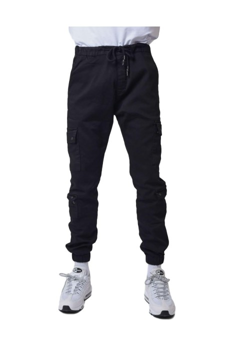 Jeans Project X Paris Cargo Multibolsillos Negro