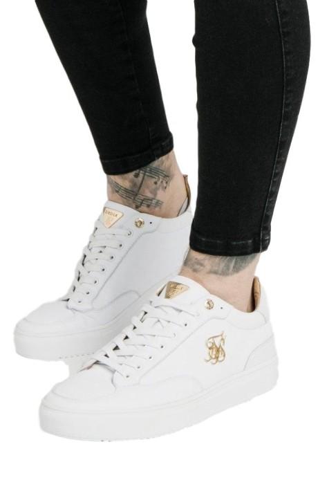 Running Shoes SikSilk Phantom Suede White