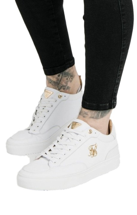 Zapatillas SikSilk Phantom Suede Blancas
