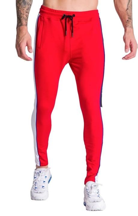 Pantalon de chandal Gianni Kavanagh Racer Block Rojo