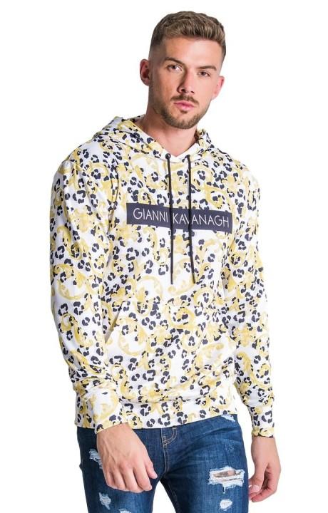 Sweat-Shirt Gianni Kavanagh Baroque Leopard