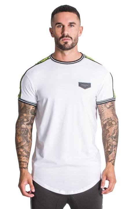 Camiseta Gianni Kavanagh Blanca con detalles de serpiente