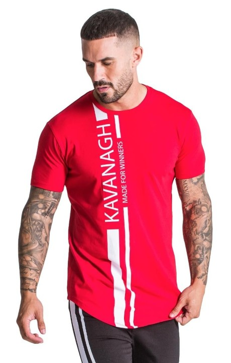 T-Shirt Gianni Kavanagh Red Champion Racer