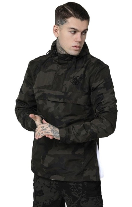 Short Winds SikSilk Energy Green Camouflage