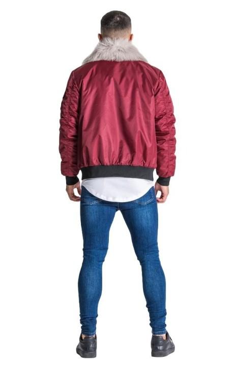 Pantalon Court SikSilk Coureur Panneau Rouge