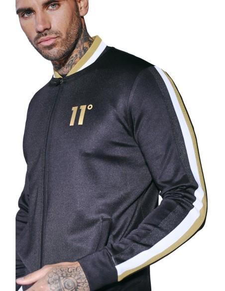 Jacket Tracksuit 11 Degrees Tricot-Black