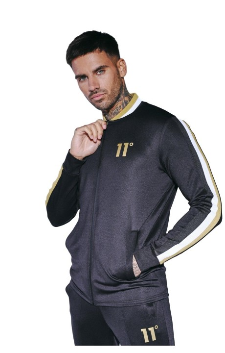 Chaqueta de Chandal 11 Degrees Tricot Negra