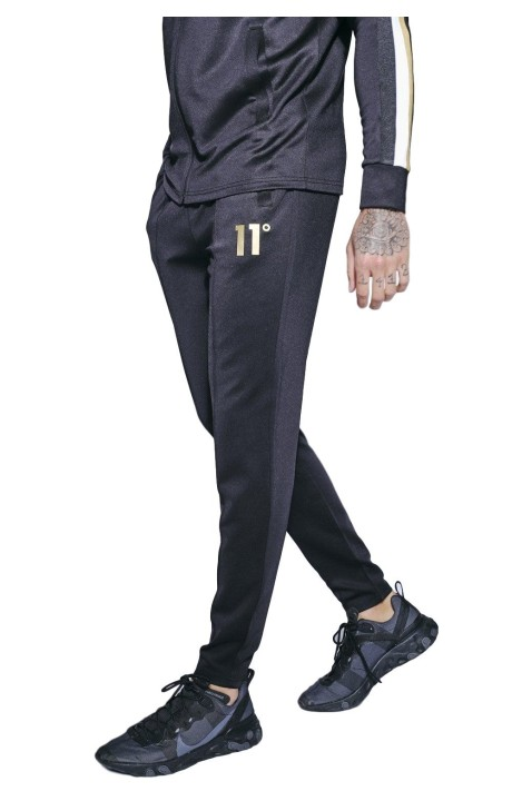 Pantalon de Chandal 11 Degrees Tricot Negro