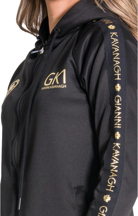 T-shirt Gianni Kavanagh white with signature GK