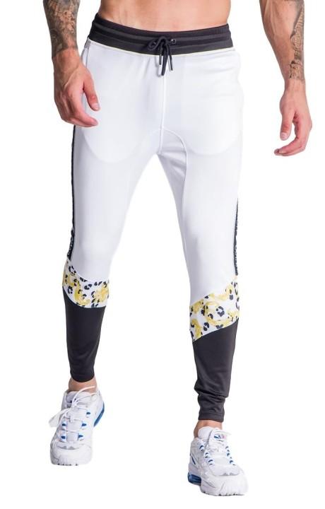 Pantalon de survêtement Gianni Kavanagh leopard baroque blanc