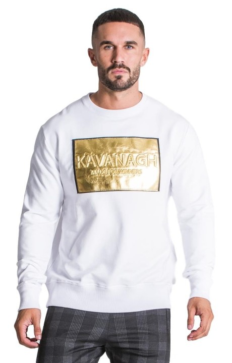 Sudadera Gianni Kavanagh Winners Party Blanca