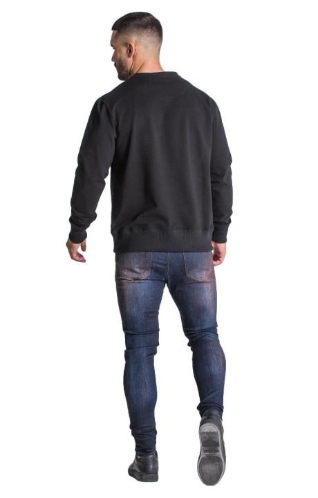 Jeans Gianni Kavanagh light blue with black ribbon GK