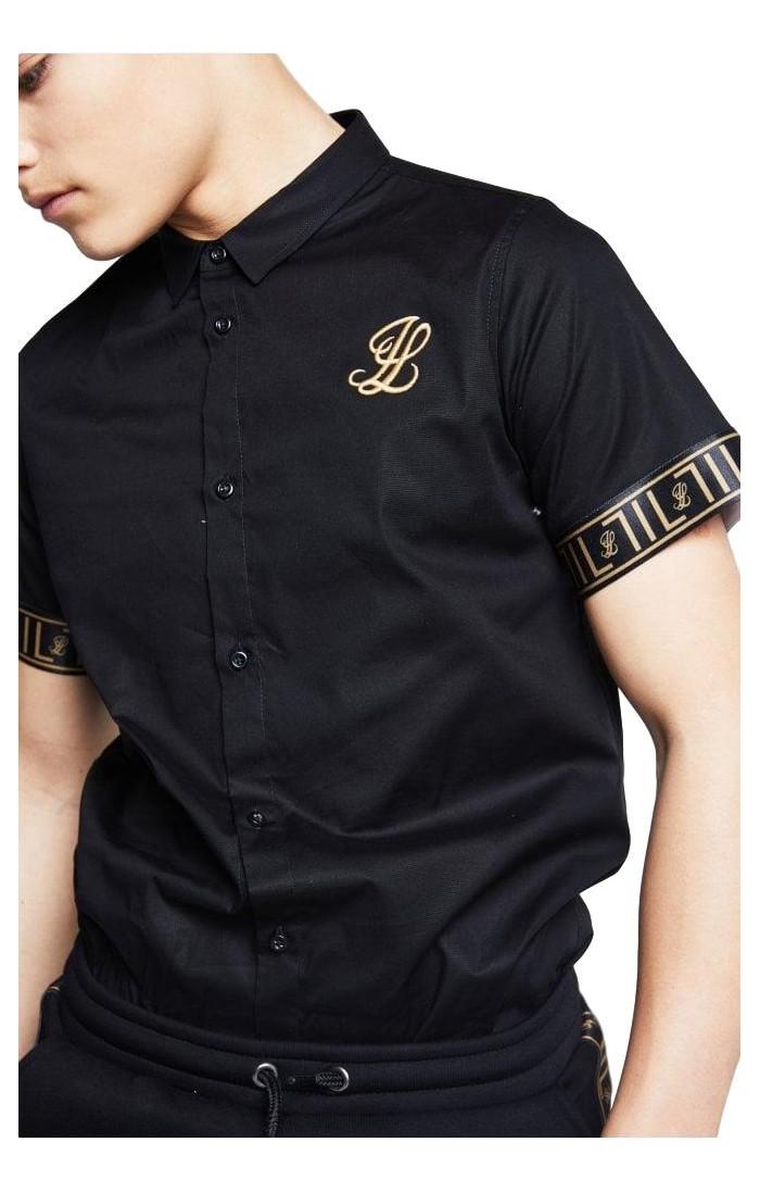 Camisa Illusive London Taped Negro