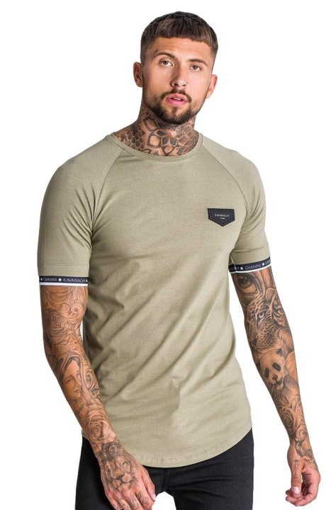 T-Shirt Gianni Kavanagh Short Sleeve Green/White