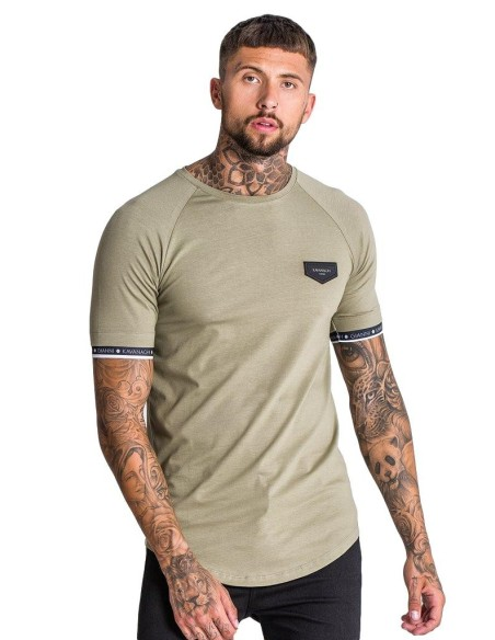 T-Shirt Gianni Kavanagh Short Sleeve Green/White