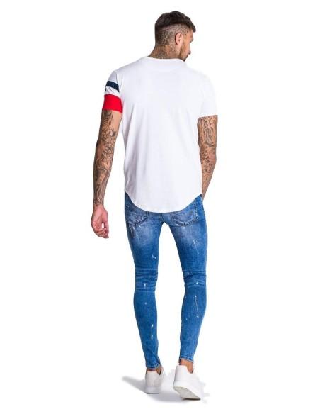 Camiseta De Tirantes Gianni Kavanagh a Rallas Rosa/Negro