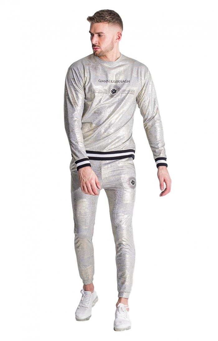 marca popular outlet(mk) buena venta Pantalon SikSilk Muscle Fit Negro